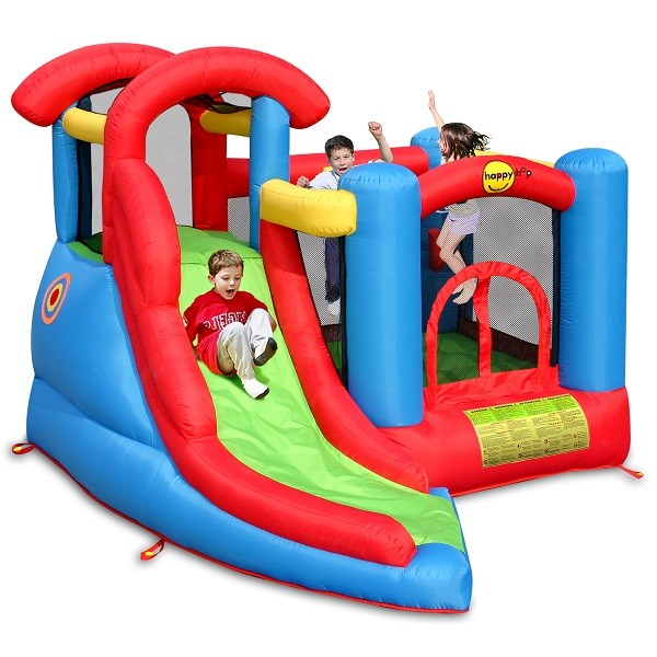 Happy hop springkussen 6 in 1 playcenter 9371 - Structure gonflable happy hop ...